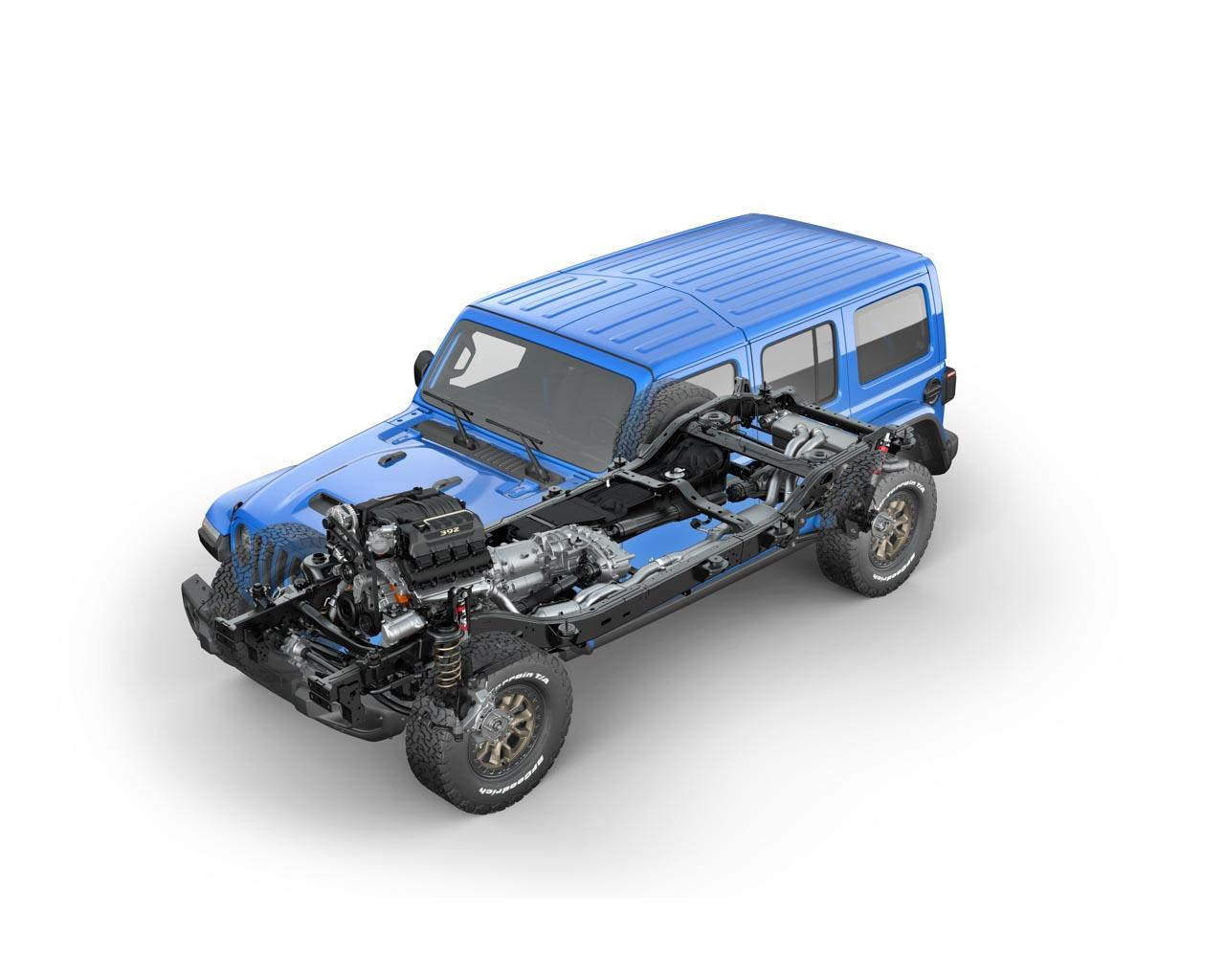 Jeep Wrangler Rubicon 392 V8 Rahmen
